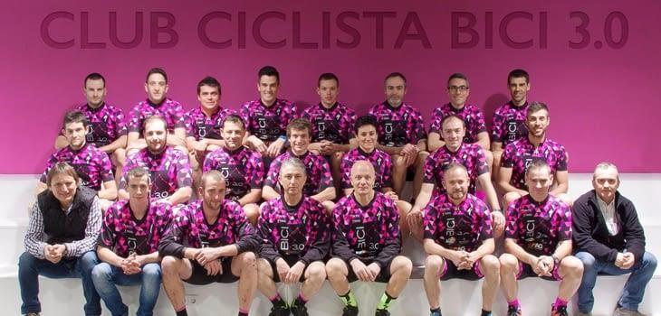 PRESENTACIÓ TEMPORADA 2016 BICI3.0 CLUB CICLISTA