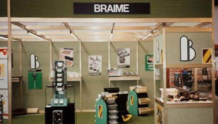 1994. 1ª exposición en Zaragoza con nuestro primer proveedor extranjero BRAIME