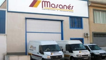 2009. Integración de Masanés Córdoba en Masanés Suministros Industriales, S.A. Compra de la nave de Fernán Nuñez y traslado de la delegación de Córdoba.