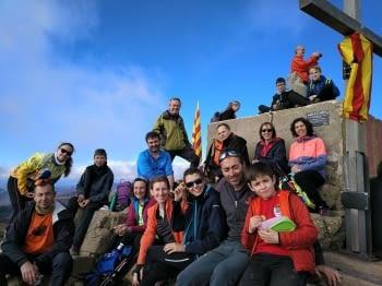 La secció de sortides familiars al cim del Puigsacalm