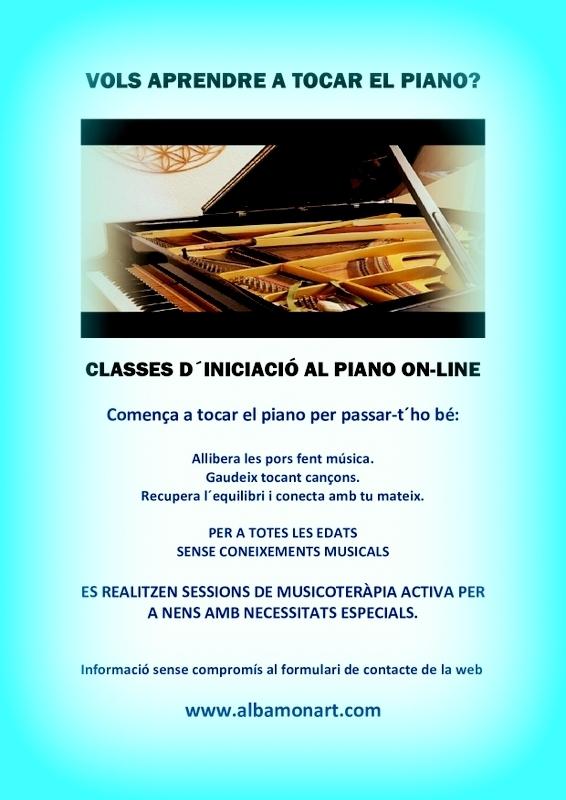 CLASSES DE PIANO ON-LINE