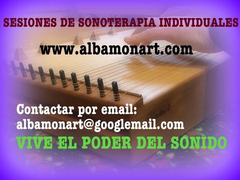 Sesiones individuales de sonoterapia