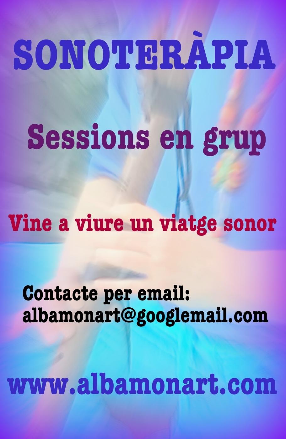 Sonoteràpia: sessions en grup