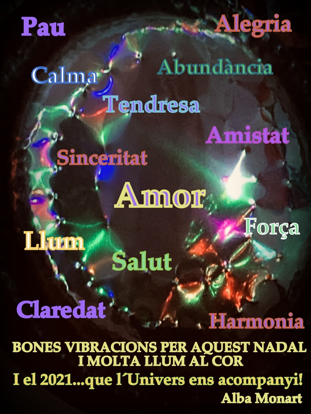 Bon Nadal i Bon Any Nou! Fröhe Weihnachten und Schönes Neues Jahr!