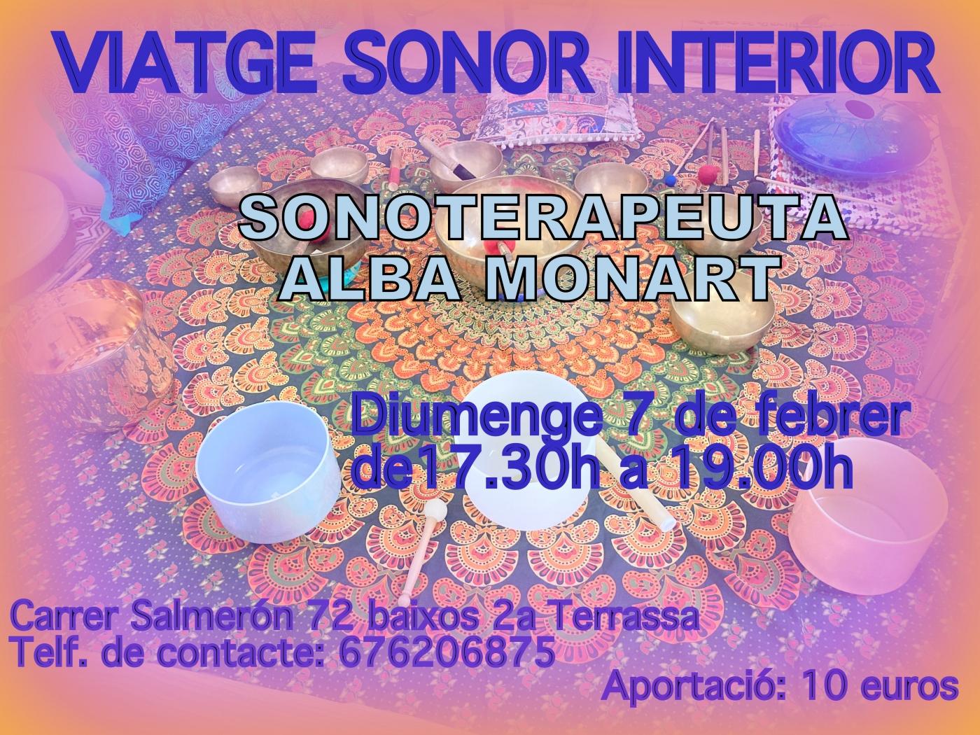 Cartell Viatge Sonor Interior 7 de febrer de 2021
