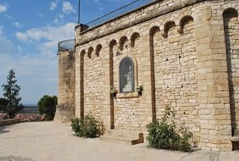Mur de la mare de Déu de Montserrat