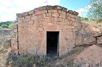 Una altra cabana que no vam veure a la visita anterior