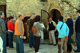 En Roger Boada ens mostra el Museu del Bast.