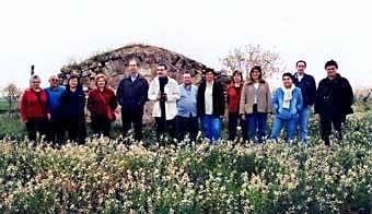 Els que  hi  vam tornar  el  3 de març del 2007... amb alguna absència, a més del Josep Pané, que ens venia a veure amb avioneta!