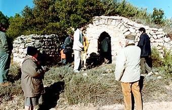 Al Vilosell es donen molts tipus de cabanes.  Aquesta  és molt sòlida exteriorment i interior. Es troba vora un  camí i ha estat utilitzada com a vivenda estacional.