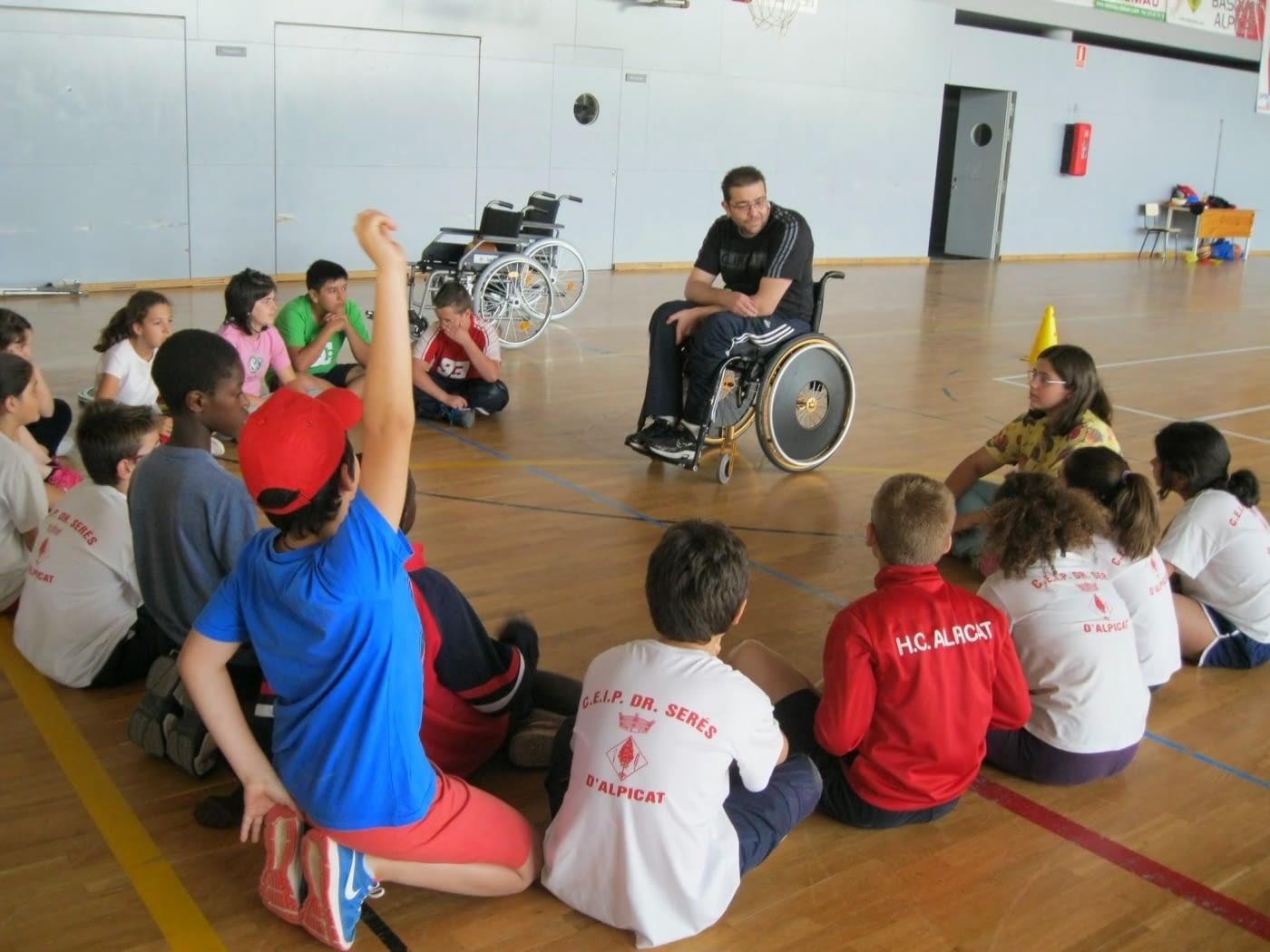 Actividades para familiarizar a los niños con la discapacidad