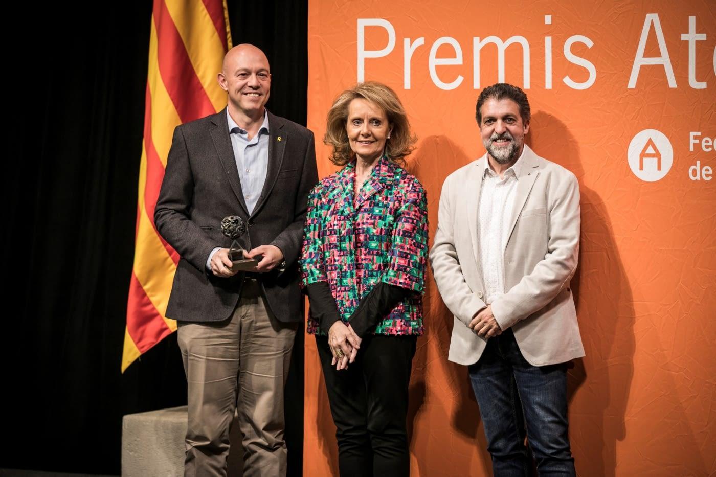 'JUNTS', iniciativa conjunta de Aspid i l'Orfeó Lleidatà, Premio Ateneus a la capacidad de innovación