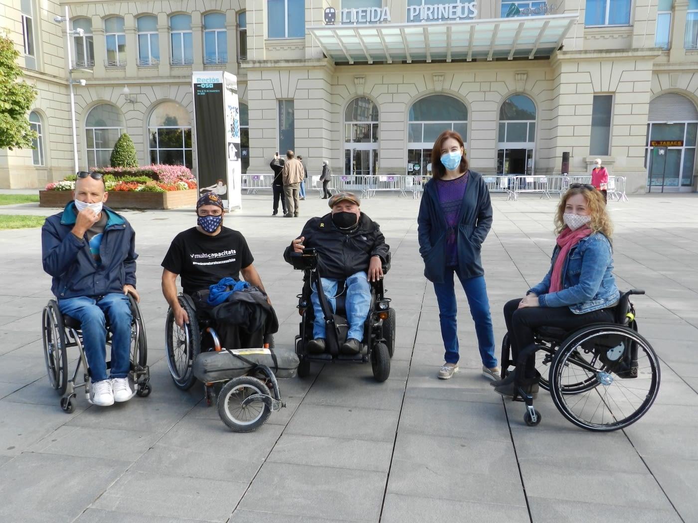 Manu Heras reivindica un turisme a l'abast per tothom en el seu pas per Lleida