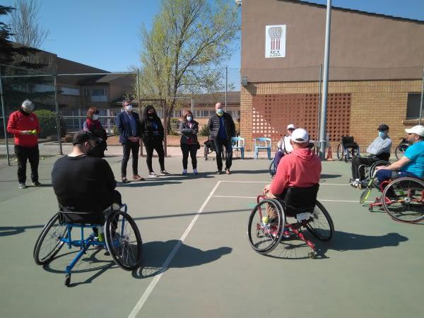 """Joan Talarn diu que el Club Esportiu ASPID  """"és un exemple d'esport inclusiu"""""""