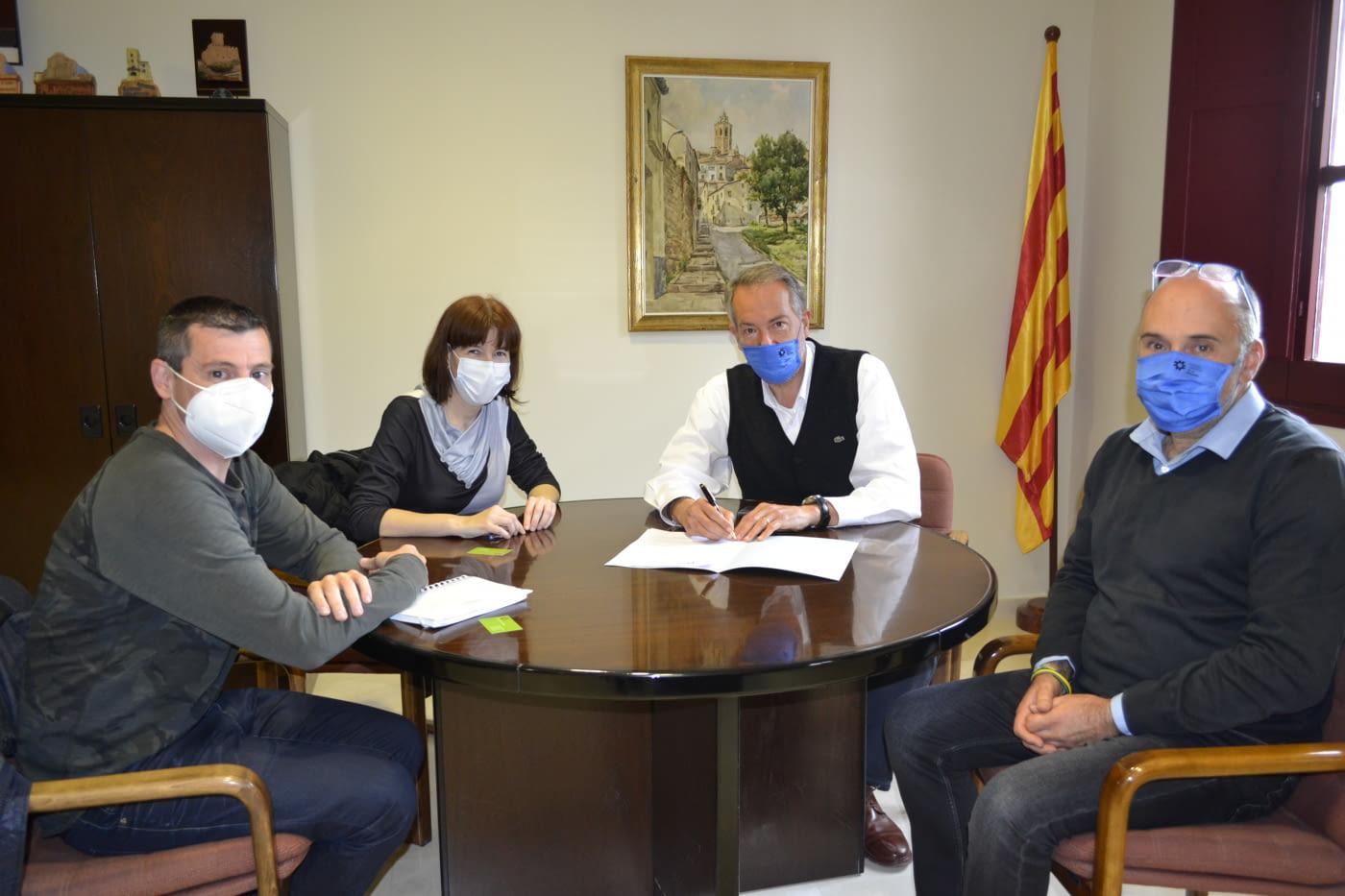 Renovem el conveni de col.laboració amb el CC Segarra per a assessorar als emprenedors de la comarca