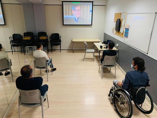 ASPID y I.Guttmann buscan personas con discapacidad para identificar las barreras que limitan la participación social