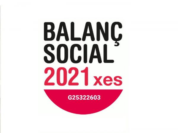 Renovem el compromís i la nostra acreditació amb Balanç Social 2021