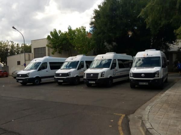 Reunió d'Aspid i AREMI amb La Paeria per parlar del transport adaptat a la ciutat
