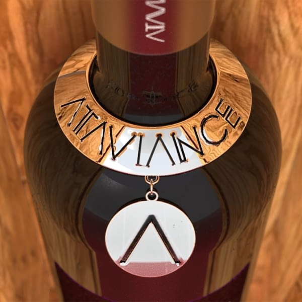 Customized wine and distillery charms and chains