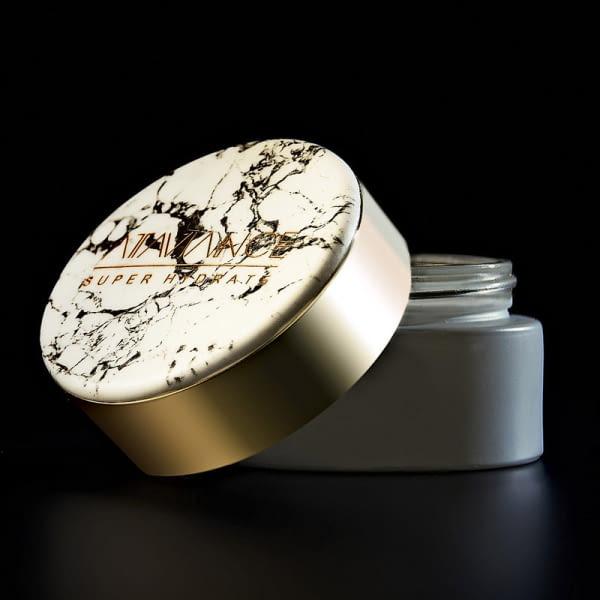Étiquettes autocollantes personnalisable d'imitation marbre