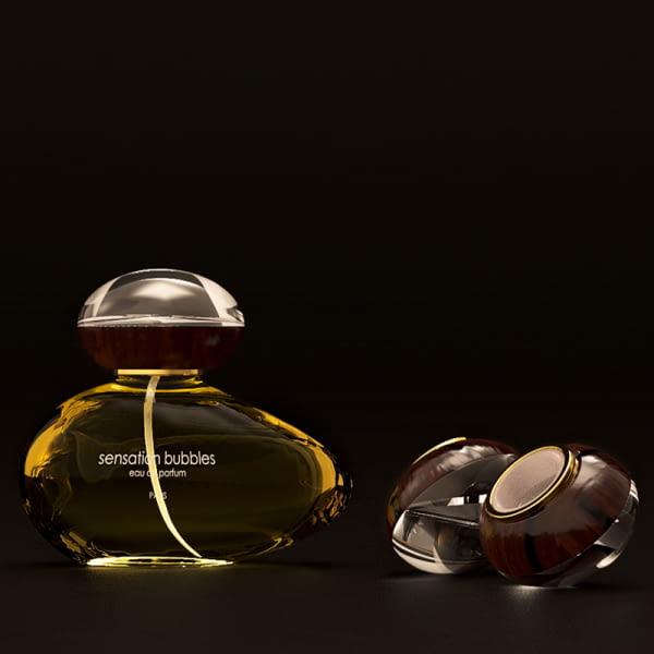 Tapón personalizado de plástico para botellas de perfume