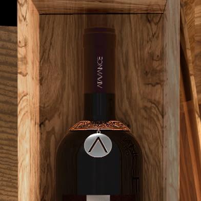 Personnalisées inserts et chaînes pour vin et distillerie