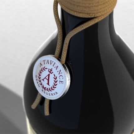 Customized wine and distillery charm