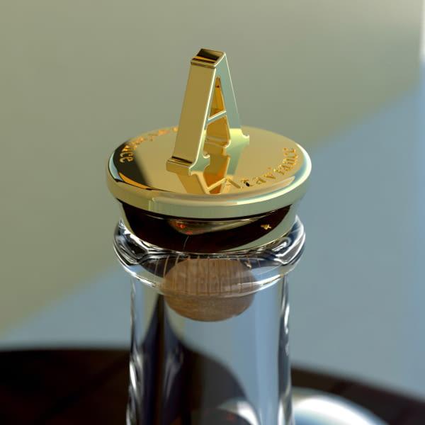 Bouchon en métal personnalisé pour bouteilles de spiritueux