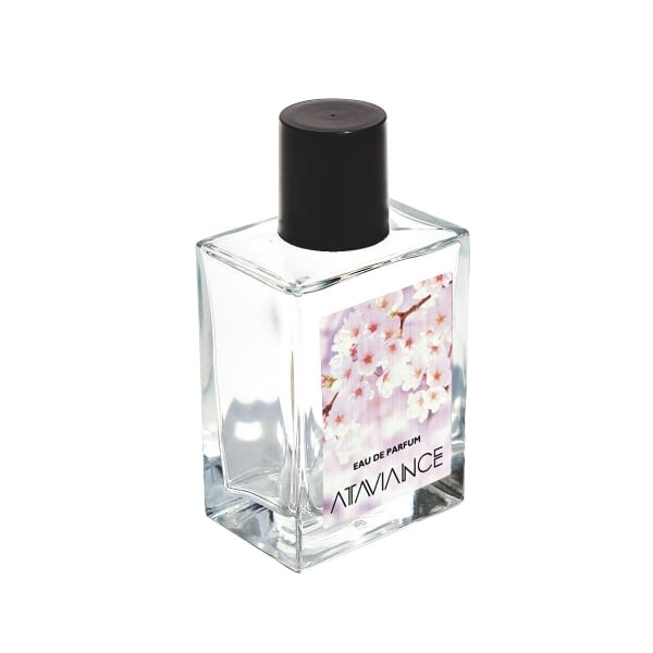 Holographic label for perfumes