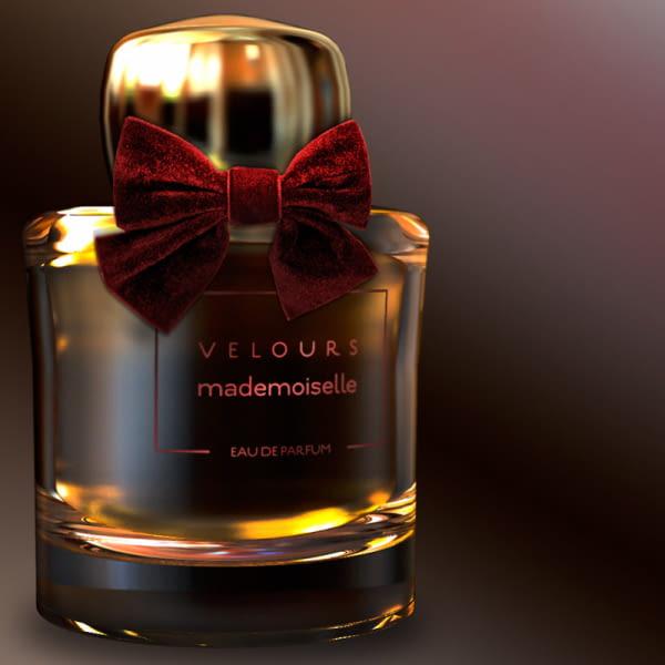 Lazo accesorio de tejido para decorar botellas de perfume
