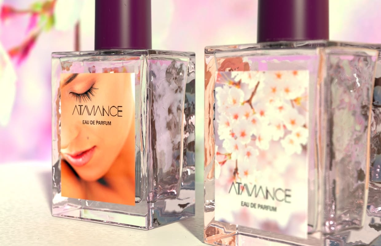 The third dimension has arrived for perfume labels!