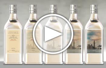 ¡La tercera dimensión ha llegado a las etiquetas para destilados!