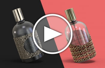 Perfumes dressed up to the nines