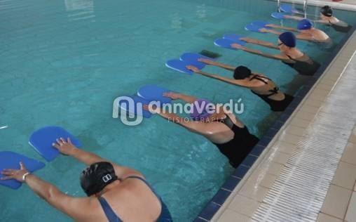 Iniciem el grup de fisio aquàtica a Cervera.