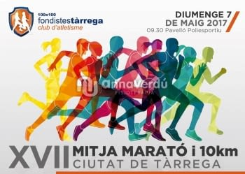 OFERTA PACK ESPORTIU - XVII mitja marató i 10 Kms Tàrrega