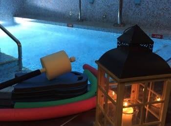 Inici de la fisio aquàtica a la piscina del Reneix