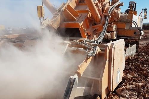 Maquines per a mineria i rebaixos