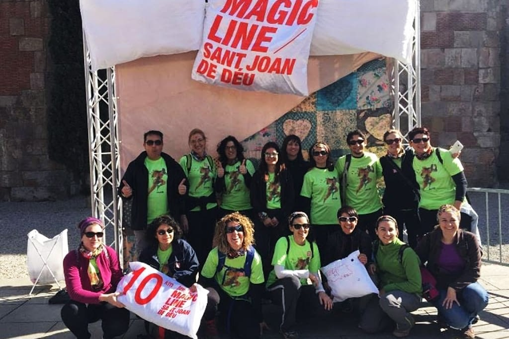 Calaf Grup Walks At The Magic Line 2016 Calaf Grup