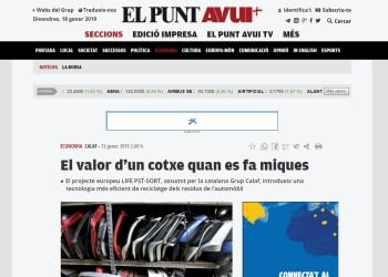 Entrevista a Rodrigo Verbal de Calaf Industrial