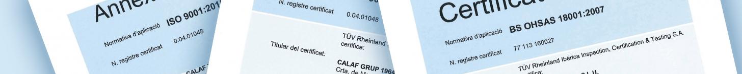 Banner certificacions