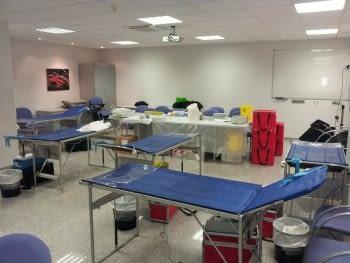 Campaña con el Banco de Sangre y Tejidos