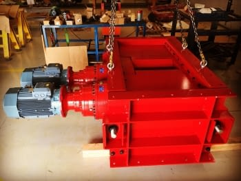 Finished the manufacturing of a crushing mill
