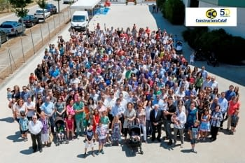 Calaf Trenching celebrates the 50th Anniversary of Constructora Calaf