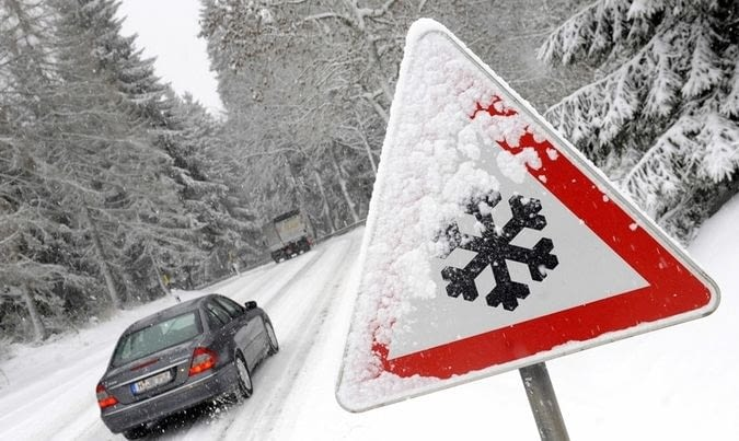 ¿Como se conduce con nieve?