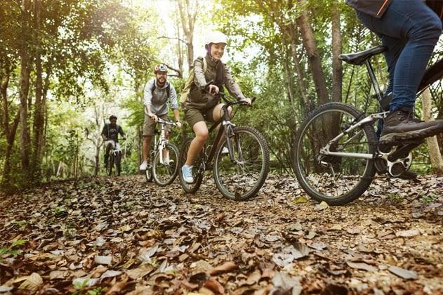 Bicicleta i senderisme
