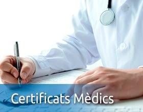 Certificats Mèdics Oficials