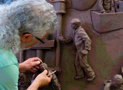 Enric Orobitg. Artista taller 4