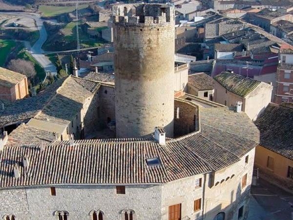 Visita al castell de verdú