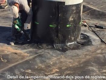 4 Detall impermeabilització pous de registre