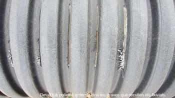 Geotèxtil damunt cap impermeabilitzant preparat pe